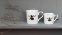 BEE tea and coffee mugs Claire Vaughan Designs