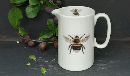 Bee bone china jugs