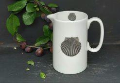 Scallop Shell bone china jugs