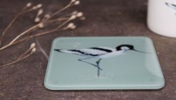Avocet recycled glass coasters