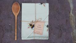 BEE tea towel Claire Vaughan Designs