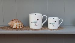 GULL tea and coffee mug Claire Vaughan Designs