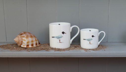 Gull bone china mugs