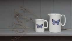 HOLLY BLUE small and large jugs Claire Vaughan Designs