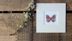 Peacock Butterfly unframed botanic art print