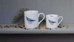 NUTHATCH tea and coffee mugs Claire Vaughan Designs