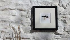 Oystercatcher framed Seabird Art Print