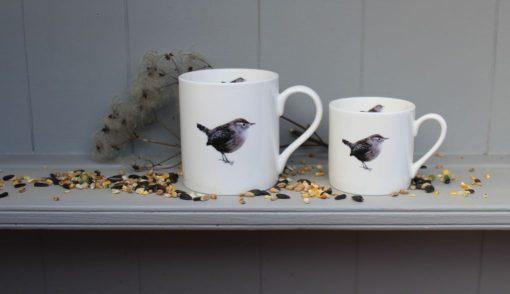 Wren bone china mugs