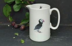 Gull bone china jugs